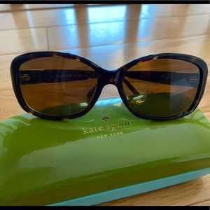 Kate Spade Tortoise Prescription Sunglasses